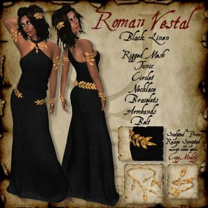 Roman Vestal Black HR