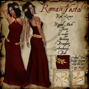 Roman Vestal Red HR