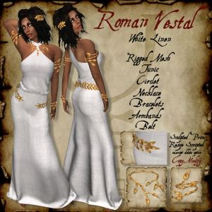 Roman Vestal White HR