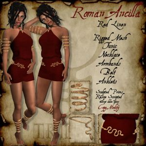 Trident Roman Ancilla Red HR