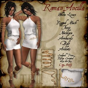 Trident Roman Ancilla White HR